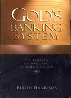 God's banking system : the rewards of investing in God's kingdom