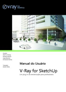 V- -Ray for SketchUp ay for SketchUp