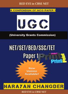 UGC-NET CS and PAPER1 Book