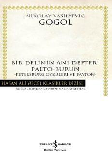 Bir Delinin Anı Defteri - Nikolay Vasilyeviç Gogol