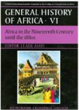 General history of Africa, VI