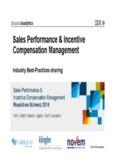 Sales Performance & Incentive Compensation Management