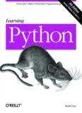 Learning Python Mark Lutz