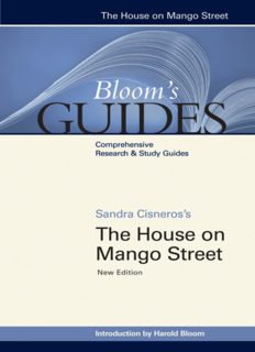 Sandra Cisnero's The House on Mango Street, New Edition (Bloom's Guides)
