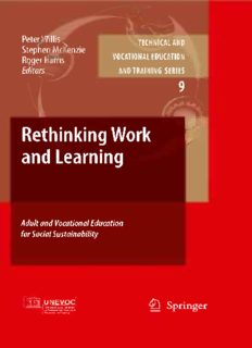 Rethinking Work and Learning: Adult and Vocational Education for Social Sustainability