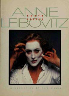 Annie Leibovitz - Photographs