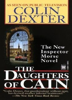 The Daughters of Cain (Inspector Morse)