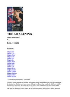 L. J. Smith - Vampire Diaries 01 - The Awakening