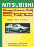 Mitsubishi Mirage (Lancer, Colt), Galant (Sapporo, Eterna, Sigma), Cordia, Tredia, Precis. Устройство, техническое обслуживание и ремонт.