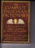 A Dictionary of the Angelic Language as Revealed to Dr. John Dee