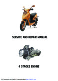4 STROKE ENGINE SERVICE AND REPAIR MANUAL