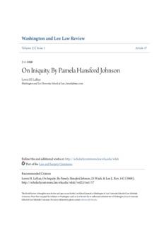 On Iniquity. By Pamela Hansford Johnson
