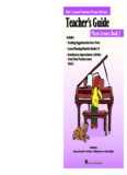 Piano Lessons Book 2 - Hal Leonard