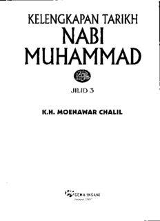KELENGKAPAN TARIKH NABI MUHAMMAD 3