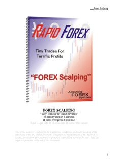 forex scalping