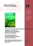 A Biological Assessment of the Aquatic Ecosystems of the Pantanal, Mato Grosso do Sul, Brasil