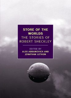 Store of the Worlds- The Stories of Robert Sheckley