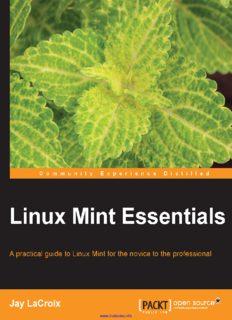 The Linux Mint Cinnamon edition