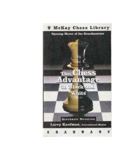 The Chess Advantage in Black and White: Opening Moves of the Grandmasters