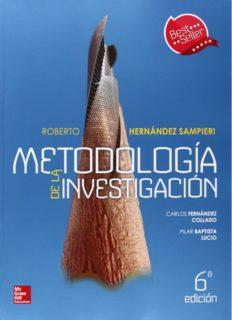 Metodología de la Investigación de Roberto Hernández Sampieri