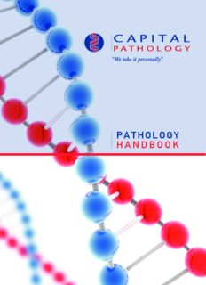 PATHOLOGY HANDBOOK - Capital Pathology