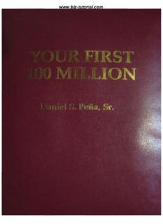 Your First 100 Million