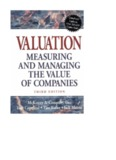The Mckinsey Valuation Measuring and Managing the Value of Companies