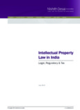 Intellectual Property Law in India - Nishith Desai Associates