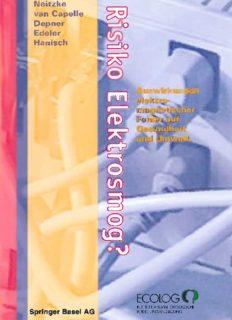 Risiko Elektrosmog?: Auswirkungen elektromagnetischer Felder auf Gesundheit und Umwelt