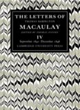 The Letters of Thomas Babington MacAulay, Volume 4