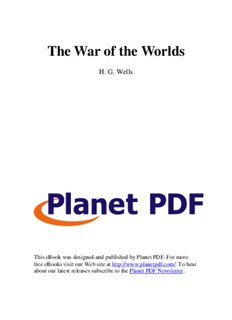 The War of the Worlds - World History