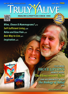 Dr. Bruce Lipton - The Honeymoon Effect - Truly Alive Magazine
