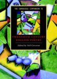 The Cambridge Companion to Twentieth-Century English Poetry (Cambridge Companions to Literature)