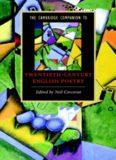 The Cambridge Companion to Twentieth-Century English Poetry (Cambridge Companions to Literature)