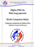 Riichi Competion Rules