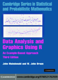 Data Analysis and Graphics Using R – an Example-Based Approach