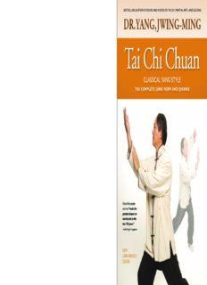 Tai Chi Chuan, Classical Yang Style