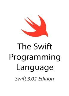 The Swift Programming Language (Swift 3.0.1)