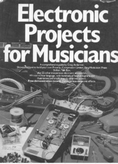 ELECTRONIC PROJECTS FOR MUSICIANS. by Craig Anderton.pdf
