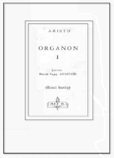 Organon 1 - Aristoteles
