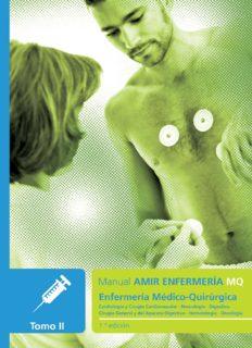 Manual AMIR Enfermería / Enfermería Médico-Quirúrgica Tomo II / 1a Edición