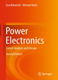 Power Electronics: Circuit Analysis and Design