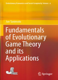Fundamentals of evolutionary game theory and its applications /Fundamentals of evolutionary game theory and its applications