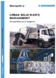 Solid Urban Waste Management. Managing Municipal Waste. Commission 3