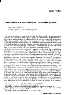 Joëlle PRALUS-DUPUY Le savoir juridique propose une division du droit posiüf en systèmes et en ...