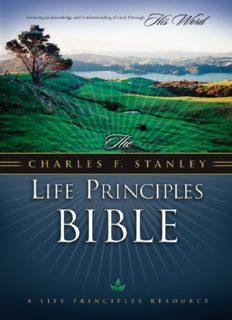 The Charles F. Stanley Life Principles Bible, NKJV