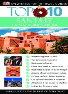 Top 10 Santa Fe, Taos, & Albuquerque (Eyewitness Top 10 Travel Guides)