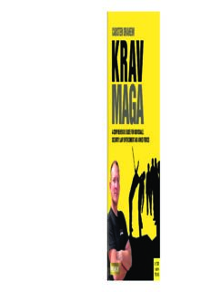 Krav Maga a comprehensive guide for individuals, security, law enforcement and armed forces