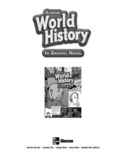 Glencoe World History in Graphic Novel - GLENCOE.com Home