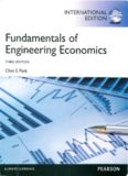 Fundamentals of Engineering Economics. Chan S. Park